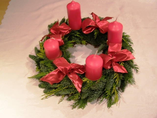 Advent wreath 4